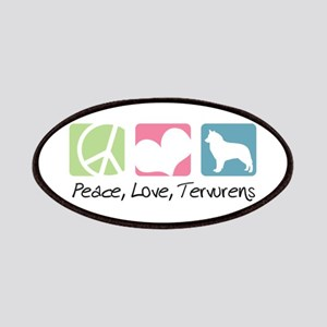 Peace, Love, Tervurens Patches
