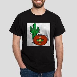 Cactus2014 Black T-Shirt