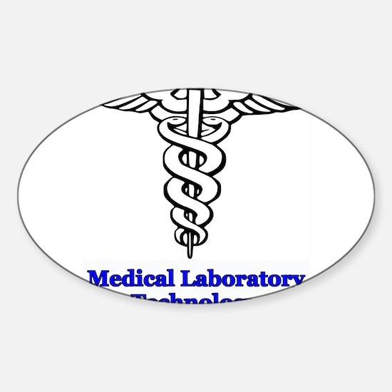 Medical Laboratory Technology Sticker (Oval 10 pk)