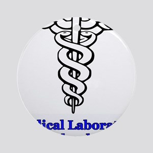 Medical Laboratory Technology Ornament (Round)