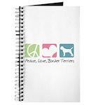 Peace, Love, Border Terriers Journal