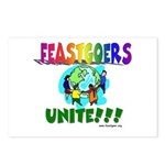 Feastgoers Unite! Postcards (Package of 8)