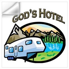 God's Hotel Wall Decal