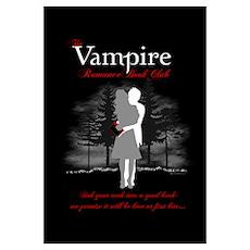 Vampire Romance Book Club Poster