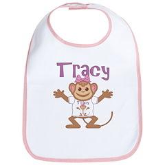 Little Monkey Tracy Bib