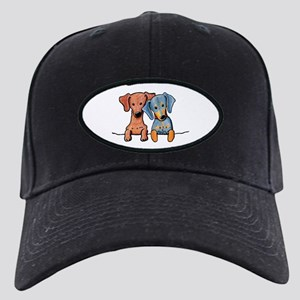Pocket Doxie Duo Black Cap