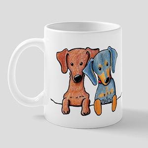 Pocket Doxie Duo Mug