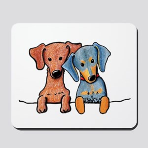 Pocket Doxie Duo Mousepad