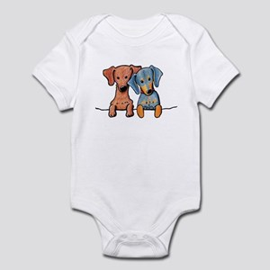 Pocket Doxie Duo Infant Bodysuit