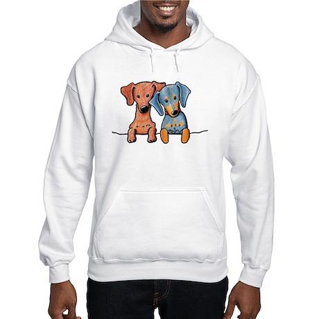 Pocket Doxie Duo Hooded Sweatshirt