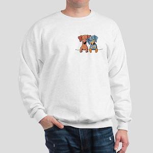 Pocket Doxie Duo Sweatshirt