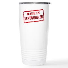 MADE IN KENTWOOD, MI Stainless Steel Travel Mug