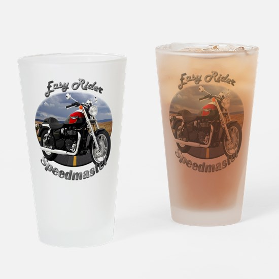 Triumph Speedmaster Drinking Glass