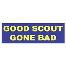 Good Scout Gone Bad (Blue) Poster