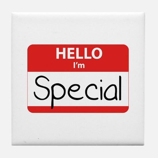 Hello, I'm Special Tile Coaster