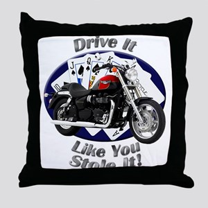 Triumph Speedmaster Throw Pillow