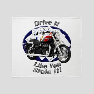 Triumph Speedmaster Throw Blanket