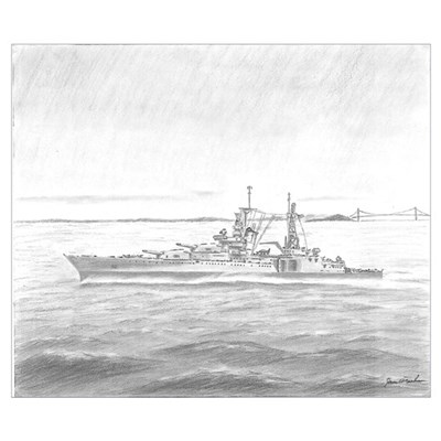 USS Indianapolis Poster