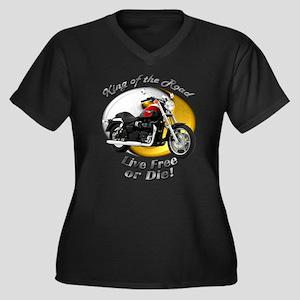 Triumph Speedmaster Women's Plus Size V-Neck Dark