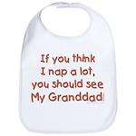 granddad naps Bib