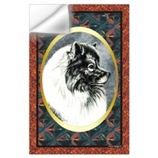 Keeshond Designer Wall Decal