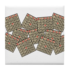 Bingo Tile Coaster