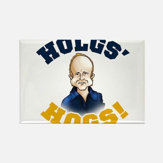 Hols' Hogs! Rectangle Magnet