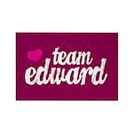 Team Edward Rectangle Magnet