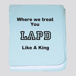 LAPD baby blanket