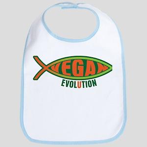 Vegan Evolution Ichthys Bib