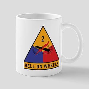2nd Armored Division - Hell o Mug