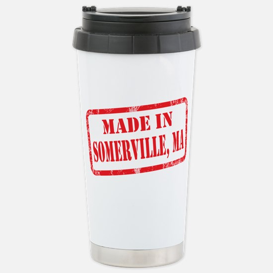MADE IN SOMERVILLE, MA Stainless Steel Travel Mug