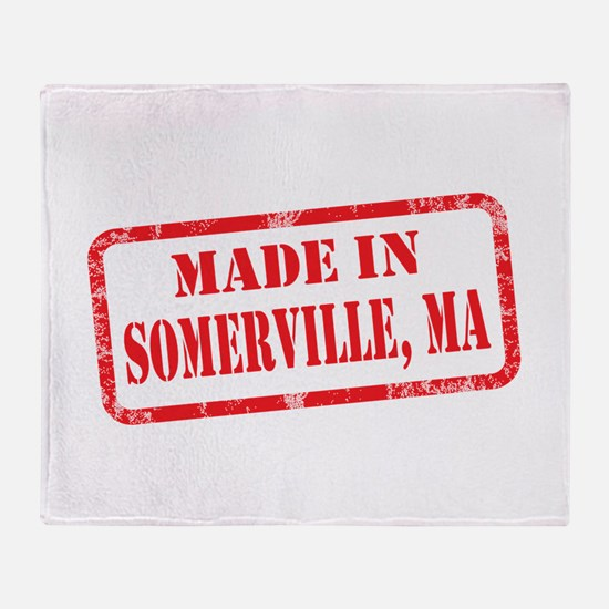 MADE IN SOMERVILLE, MA Throw Blanket