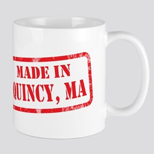 MADE IN QUINCY, MA Mug
