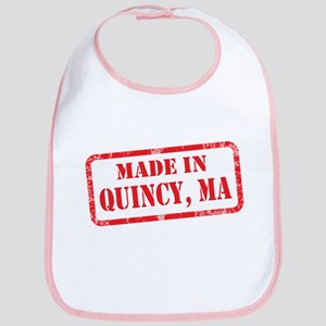 MADE IN QUINCY, MA Bib