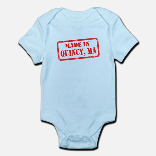 MADE IN QUINCY, MA Infant Bodysuit