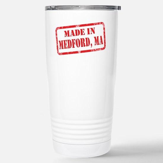 MADE IN MEDFORD, MA Stainless Steel Travel Mug
