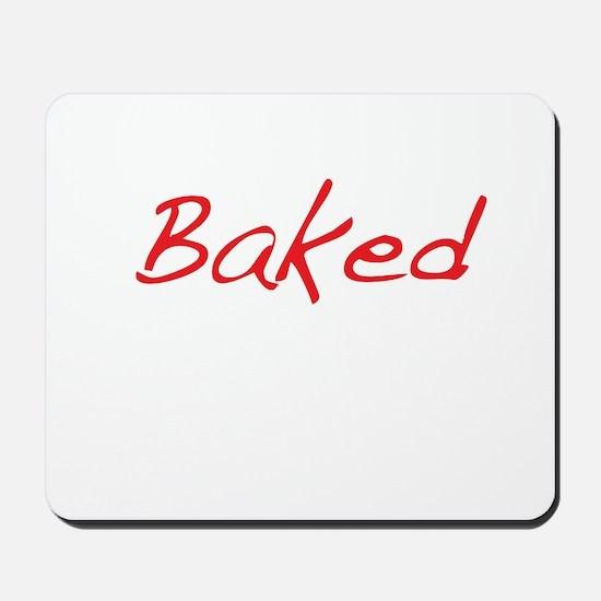 Baked Mousepad