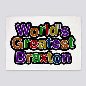 World's Greatest Braxton 5'x7' Area Rug
