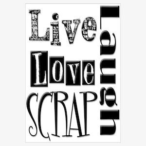 Live Laugh Love Scrap