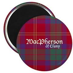 Tartan - MacPherson of Cluny Magnet
