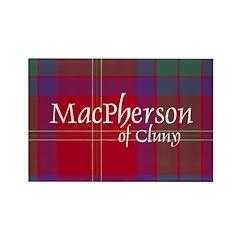 Tartan - MacPherson of Cluny Rectangle Magnet