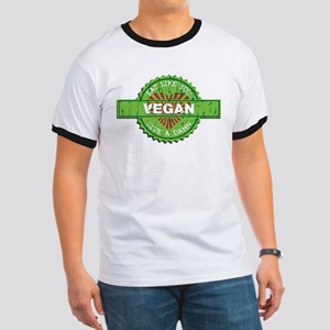 Vegan Eat Like You Give a Damn Ringer T