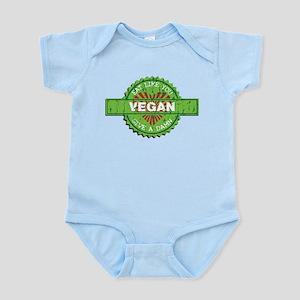 Vegan Eat Like You Give a Damn Infant Bodysuit
