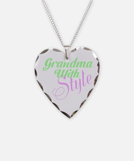 Grandma With Style Necklace
