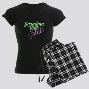 Grandma With Style Women's Dark Pajamas