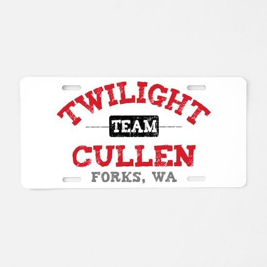 Team Cullen Aluminum License Plate