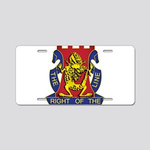 14th Infantry Regiment - Gold Aluminum License Pla