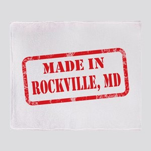 MADE IN ROCKVILLE, MD Throw Blanket