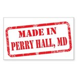 MADE IN PERRY HALL, MD Sticker (Rectangle)